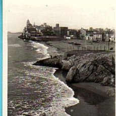 Postales: SITGES-PLAYA DE SAN SEBASTIAN Nº 29-L.ROISIN- (CIRCULADA CON SELLO 15/9/1944). Lote 28590191