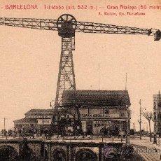 Postales: ANTIGUA POSTAL DE BARCELONA, TIBIDABO, GRAN ATALAYA, L.ROISIN, S/C. Lote 28610509
