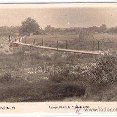 Postales: MONJOS - 10 - PAISAJE RIO FOIX O ALREDEDORES - FOTOGRAFICA- (8095). Lote 28881961