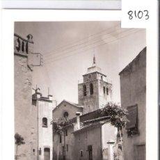 Postales: L ´AMETLLA DEL VALLES - PLAÇA DE CAN BACH I ESGLESIA -ARCHIVO BOADA -(8103). Lote 28882034