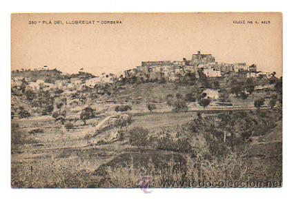 250. PLA DEL LLOBREGAT. CORBERA. (CLIXÉ DE A. RIUS) ASSOSSIACIÓ PROTECTORA DE LA ENSENYANSA CATALANA (Postales - España - Cataluña Antigua (hasta 1939))
