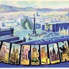 Postales: POSTAL ANTIGUA BARCELONA T. G. SOLER NUEVA SIN CIRCULAR . Lote 28929367
