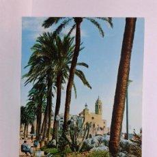 Postales: POSTAL SITGES PASEO DE LA RIBERA CIRCULADA. Lote 29003280