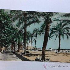 Postales: POSTAL SITGES PASEO DE LA RIBERA CIRCULADA. Lote 29003319
