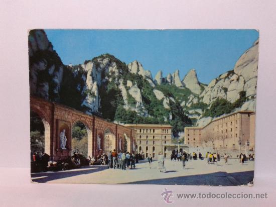 POSTAL MONTSERRAT CIRCULADA (Postales - España - Cataluña Moderna (desde 1940))