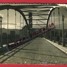 Postales: TORTOSA, TARRAGONA, PUENTE DE TRANSITO SOBRE EL RIO EBRO, P64475. Lote 29020749