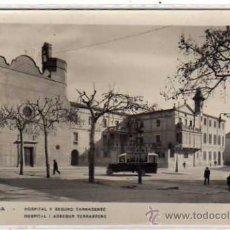 Postales: TARRASA. BARCELONA. HOSPITAL Y SEGURO TARRASENSE. GUILERA. SIN CIRCULAR.. Lote 29023866