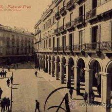 Postales: REUS.PLAZA DE PRIM.. Lote 29064070
