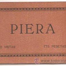Postales: BLOC POSTALES PIERA (BARCELONA) – 12 VISTAS. Lote 29148992