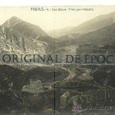 Postales - (PS-25130)POSTAL FOTOGRAFICA DE FIGOLS-LAS MINAS.VISTA PANORAMICA - 29150135