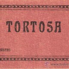 Postales: TORTOSA - BLOCK 20 POSTALES COMPLETO - LIB. VILADRICH -HUEC.MUMBRU -VER FOTOS ADICIONALES - (B-103). Lote 29157040