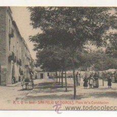 Postales: ATV - 846. SANT FELIU DE GUIXOLS. PLAZA DE LA CONSTITUCIÓN. . Lote 29198848