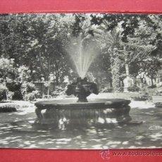 Postales: FIGUERAS - PARQUE DE LA ESTACIÓN - AÑO 1956. Lote 29300522