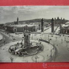 Postales: BARCELONA - PLAZA ESPAÑA - LA EXPOSICIÓN. Lote 29301100