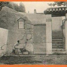 Postales: CANET DE MAR (BARCELONA) - PLAZUELA DE MERCEDES VIADER - FOT. ROISIN - MERCERIA MIGUEL SOLER 1926. Lote 29307848