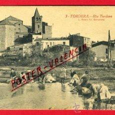 Postales: POSTAL TORDERA , BARCELONA , RIU RIO TORDERA , LAVANDERAS , P66181. Lote 29353054