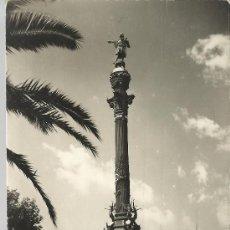 Postales: BARCELONA MONUMENTO A COLON CIRCULADA. Lote 29361008