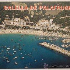 Postales: GERONA. GIRONA. CALELLA DE PALAFRUGELL. COSTA BRAVA. VISTA AEREA.. Lote 29401101