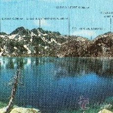 Postales: POSTAL PANORÁMICA (23X10 CM) ESTANY NEGRE (P.N. AIGÜESTORTES - LLEIDA), ED. SICILIA, S/C. Lote 29448283