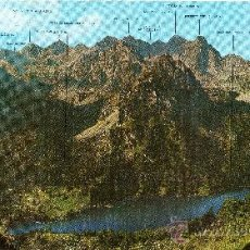 Postales: POSTAL PANORÁMICA (31X15 CM) PIRINEO CATALAN, ESPOT, PARC NACIONAL DE ST. MAURICI, ED. SICILIA. Lote 29448345
