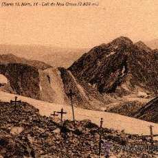 Postales: PIRINEU CATALÀ (SERIE1) NUM. 11, COLL DE NOU CREUS (2809M), CENTRE EXCUS. DE CATALUNYA, S/C. Lote 29448531