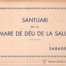 Postales: SABADELL - SANTUARI DE LA SALUT - BLOCK COMPLETO 10 POSTALES - VER FOTOS ADICIONALES - (B-135). Lote 29486732