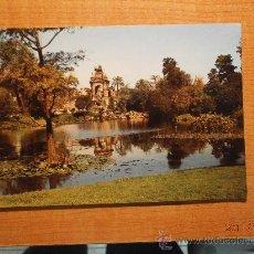 Postales: POSTAL BARCELONA PARQUE CIUDADELA ESCRITA. Lote 29488306