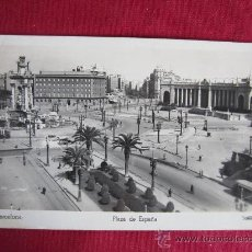 Postales: BARCELONA - PLAZA ESPAÑA. Lote 29654295