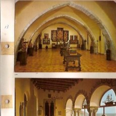 Postales: 2 POSTALES SITGES 2 POSTALES FIGUERAS MUSEO DALI. Lote 29610399