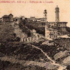 Postales: 7 BARCELONA - TIBIDABO, EDIFICIOS DE LA CÚSPIDE, L.ROISIN, S/C. Lote 29623688