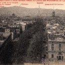 Postales: 3 BARCELONA, VISTA TOMADA DESDE LA CÚPULA DEL MONUMENTO DE COLÓN, L. ROISIN, S/C. Lote 29623944