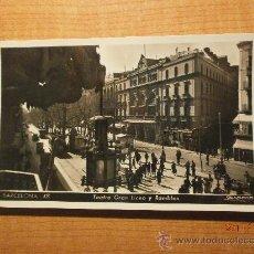 Postales: POSTAL BARCELONA Nº 48 TEATRO GRAN LICEO Y RAMBLA FOTO ZERKOWITZ SIN CIRCULAR . Lote 29640003