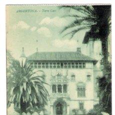 Postales: ARGENTONA - TORRE GARI . Lote 29687055