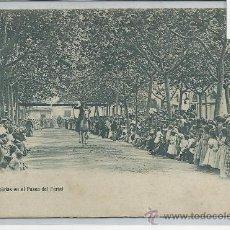Postales: OLOT-FIESTA DE LAS CINTAS EN EL PASEO DEL FERIAL(REF-935). Lote 29699949