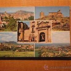 Postales: POSTAL SOLSONA VISTAS DE LA VILLA CIRCULADA. Lote 29716068