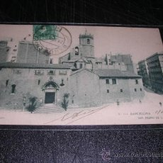 Postales: Nº113 BARCELONA SAN PEDRO DE LAS PUELLAS, THOMAS, POST. CIRCULADA 1904 -14X9 CM.. Lote 29748277
