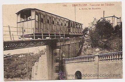 BARCELONA. FUNICULAR DEL TIBIDABO (Postales - España - Cataluña Antigua (hasta 1939))