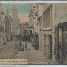 Postales: TÁRREGA-17-CARRER DEL CARMEN(REF-1017). Lote 29843397