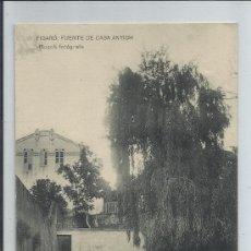 Postales: FIGARO-FUENTE DE CASA ANTON(REF-1037). Lote 29888054