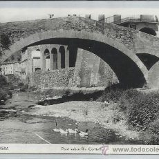 Postales: PORRERA-12-PONT SOBRE RIU CORTIELLA(REF-1042). Lote 29888190