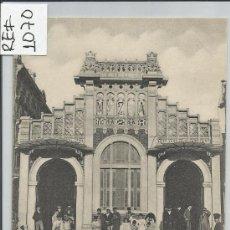 Postales: BARCELONA-APEADERO CALLE ARAGON.FACHADAS(REF-1070). Lote 29893402