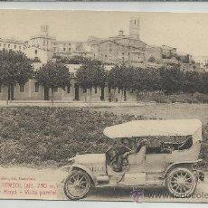 Postales: CASTELLTERSOL-4-CARRETERA DE MOYÁ-VISTA PARCIAL(REF-1105). Lote 29904700