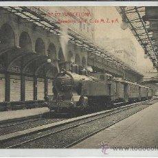 Postales: BARCELONA-172-APEADERO DEL F.C DE M.Z Y A(REF-1111). Lote 29904907