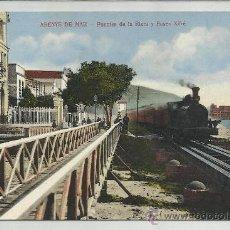 Postales: ARENYS DE MAR-PUENTE DE LA RIERA Y PASEO XIFRE(REF-1110). Lote 29904966