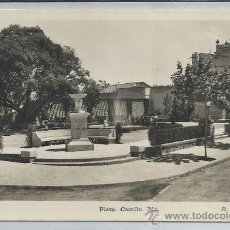 Postales: BEGAS-18-PLAZA CAMILO RIU(REF-1139). Lote 29905638
