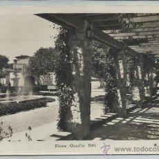 Postales: BEGAS-17-PLAZA CAMILO RIU(REF-1140). Lote 29905687