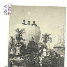 Cartes Postales: (PS-26074)POSTAL FOTOGRAFICA DE REUS-CARNAVAL DE 1908. Lote 29950786