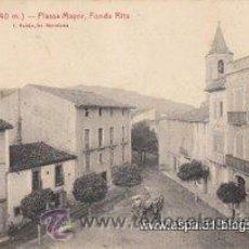 Postales: POSTAL - VILADRAU - PLASSA MAYOR, FONDA RITA - HOTEL - CAT/V. Lote 29955279