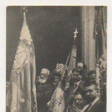 Postales: APLECH CARLISTA DE LA GLEBA. JEFE REGIONAL CON LA BANDERA DE LA JUVENTUD CARLI. (ATV, COL. PUIGGROS). Lote 29973638