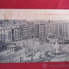 Postales: BARCELONA - PLAZA DE PALACIO. Lote 30056610